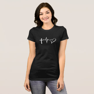 信頼の生命愛 Tシャツ