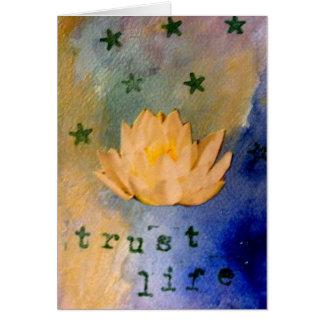 信頼の生命~の断言カードシリーズ カード