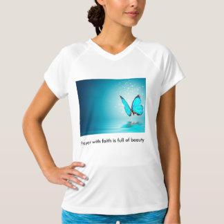 信頼の祈りの言葉は美しいの完全です Tシャツ
