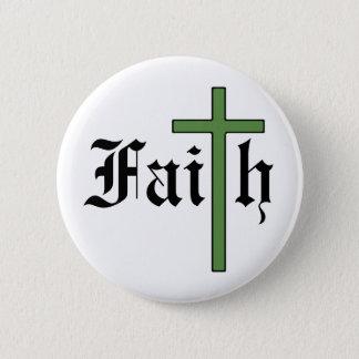 信頼の神聖な十字 缶バッジ