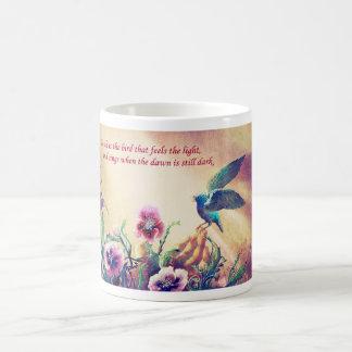 信頼の鳥 コーヒーマグカップ