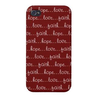 信頼の…希望…愛… iPhone 4 ケース