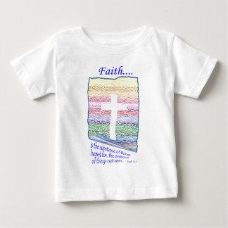信頼は望まれる事の物質…です ベビーTシャツ