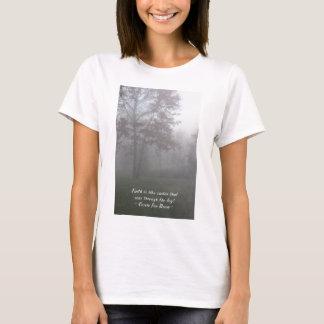 信頼は霧を見通します Tシャツ