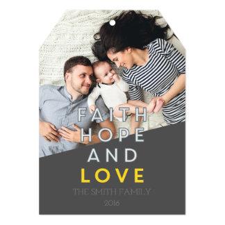 信頼、希望および愛 カード