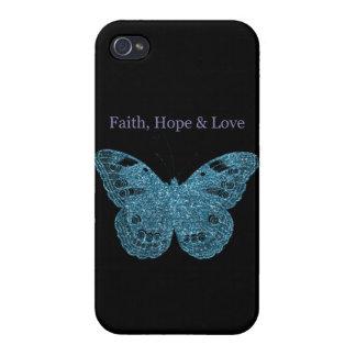 信頼、希望、愛蝶 iPhone 4/4S COVER