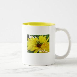 信頼、希望、愛…マグ ツートーンマグカップ