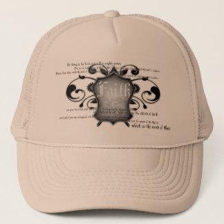 信頼(神の装甲)のキリスト教の帽子の盾 キャップ
