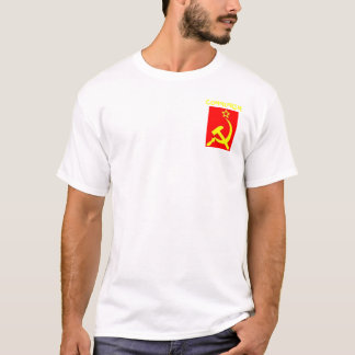 修正される共産主義 Tシャツ