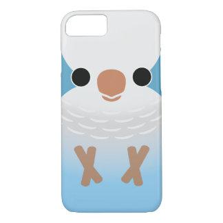 修道士のインコ(青い) iPhone 7ケース