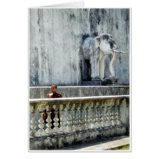 修道士及び象 カード