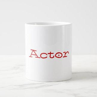 俳優のジャンボマグ ジャンボコーヒーマグカップ