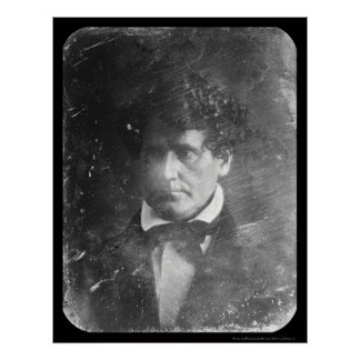 俳優のトマスHamblinの銀板写真1848年 ポスター