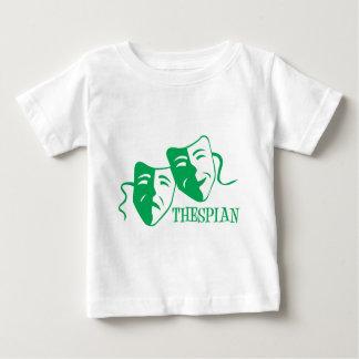 俳優の緑 ベビーTシャツ