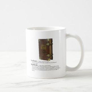 俳優の辞書-頭脳 コーヒーマグカップ