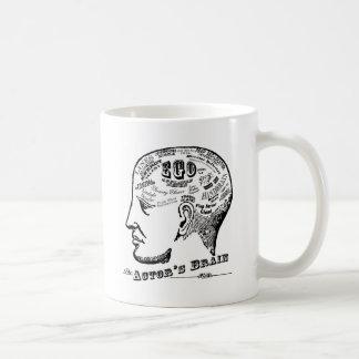 俳優の頭脳のマグ コーヒーマグカップ