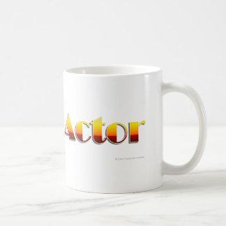 俳優(文字だけ) コーヒーマグカップ