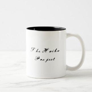 俳句のプロジェクトのマグ ツートーンマグカップ