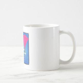 俳句のマグ-凧 コーヒーマグカップ
