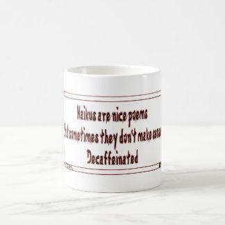 俳句のユーモア コーヒーマグカップ