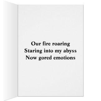 俳句の挨拶状 カード