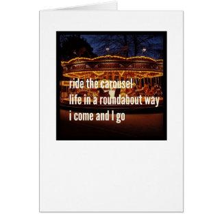 俳句カード- Iはだけ残しました カード