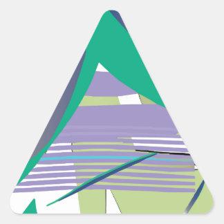 俳句 三角形シール