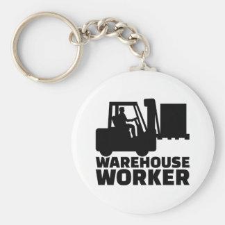 倉庫の労働者 キーホルダー