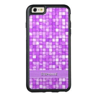 個人化して下さい: 紫色の装飾的なタイルパターン オッターボックスiPhone 6/6S PLUSケース