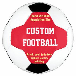 個人化なるべきカスタムによって印刷されるフットボール サッカーボール