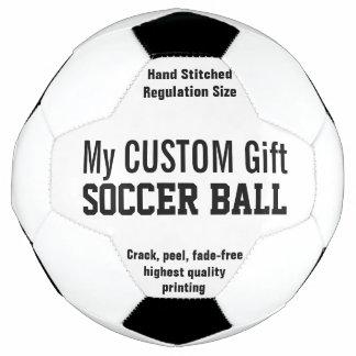個人化なるべき習慣によって印刷されるサッカーボール サッカーボール