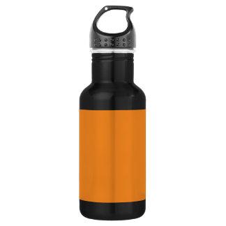 個人化なるべき蜜柑のオレンジテンプレートはカスタマイズ ウォーターボトル
