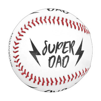 個人名のすごいパパの稲妻のロックンロール 野球ボール