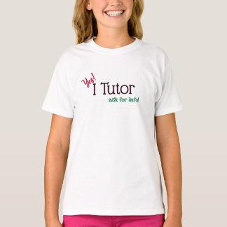 個人教師のYes、私は個別指導します Tシャツ