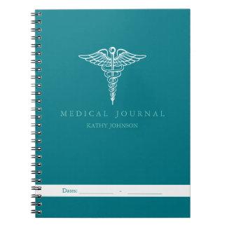 個人的で忍耐強い医学ジャーナル ノートブック