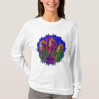個人的なタツノオトシゴのアクアリウムおよび珊瑚礁 Tシャツ