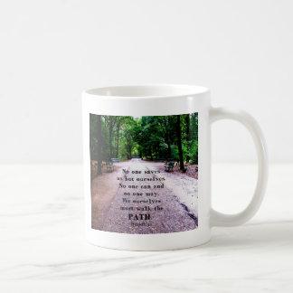 個人的な救助および選択についての仏の引用文 コーヒーマグカップ
