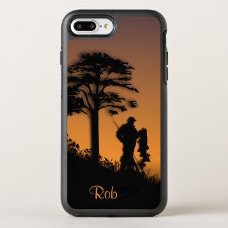 個人的な薄暗がりのiPhoneの漁師 オッターボックスシンメトリーiPhone 8 Plus/7 Plusケース