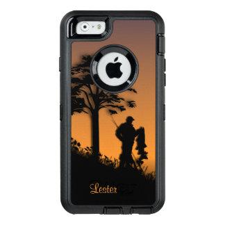 個人的な薄暗がりのiPhoneの漁師 オッターボックスディフェンダーiPhoneケース