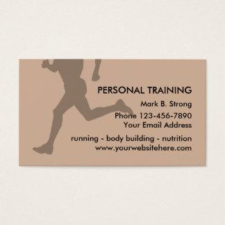 個人的な訓練の名刺 名刺