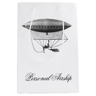 個人的な飛行船 ミディアムペーパーバッグ