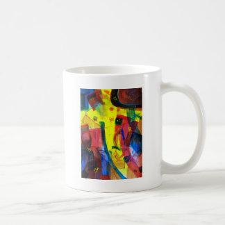 倒れかけたサイコロ コーヒーマグカップ