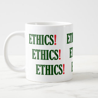 """""""倫理! 倫理! 倫理! """" ジャンボコーヒーマグカップ"""