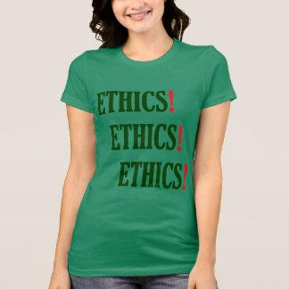 """""""倫理! 倫理! 倫理! """" Tシャツ"""