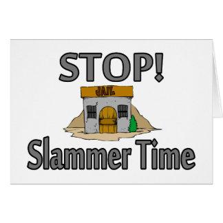 停止それはSlammerの時間です カード