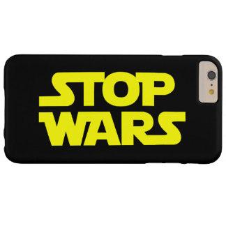 停止はiPhone6ケース戦います Barely There iPhone 6 Plus ケース