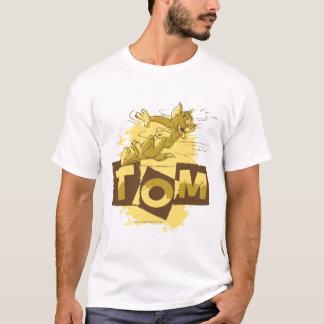 停止を滑らせているトム Tシャツ