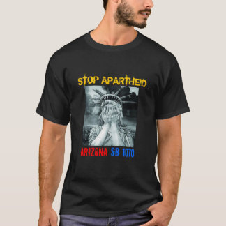 停止アパルトヘイト Tシャツ