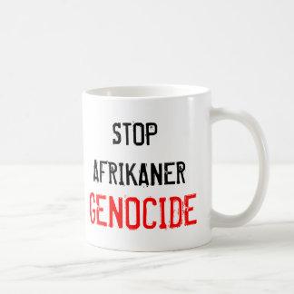停止アフリカーナの集団虐殺 コーヒーマグカップ