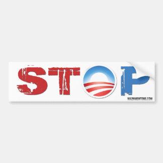 停止オバマ2012年 バンパーステッカー